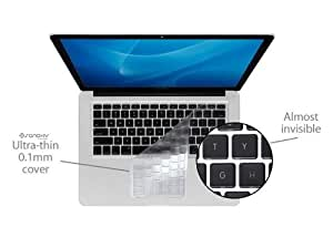 "SANOXY® 0.2mm Ultra Thin TPU Keybaord Cover, High Transparency LAPTOP KEYBOARD COVER FOR MACBOOK PRO AND AIR, MacBook,MacBook PRO(LATE 2010),MacBook Air 13"" (Clear)"