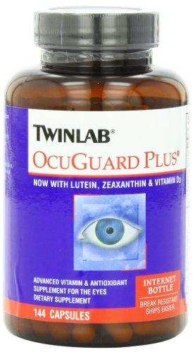 凑单品:TWINLAB 天来 Ocuguard Plus Capsules 加强型叶黄素 护眼胶囊 144粒装(FloraGlo专利质料,超高吸取率)
