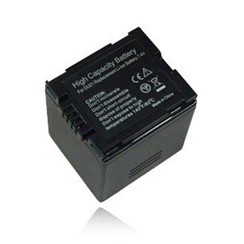 weltatec Qualitätsakku Akku Accu Camcorder kompatibel mit Panasonic NV-GS320 Camcorder - Hochleistungsakku Li-ion Akku Ersatzakku Camcorder-Akku - (nur Original weltatec mit Hologramm)