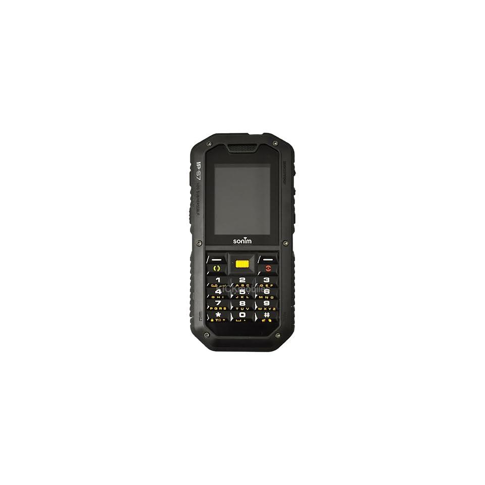 SONIM XP2 1 SPIRIT BLACK RUGGED TOUGH MOBILE PHONE IP67 on