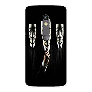 Unicovers Tri Face Back Case Cover for Moto X Play