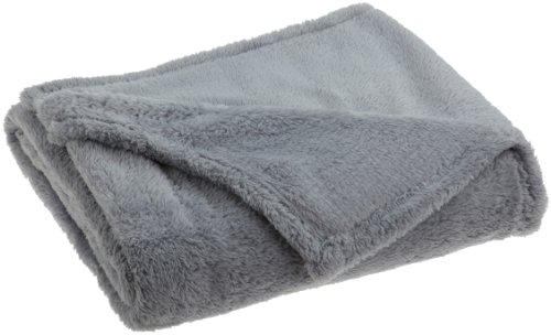 Northpoint Home Collection Feathersoft Throw, Gray front-891682