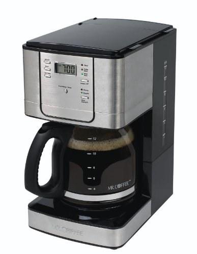 Mr Coffee Pro Coffee Maker : Mr. Coffee Coffee Tea Maker Machines Professional 12 Cup Programmable Stainless 72179230731 eBay