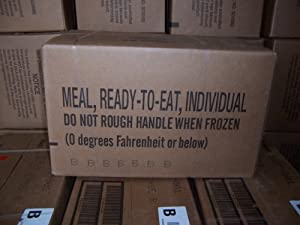 Military MRE MEALS READY TO EAT 2 2015 Case B by