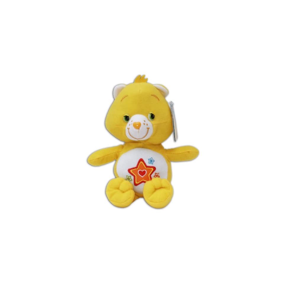Superstar Bear 7/9 Plush Care Bears Yellow Orange Star Teddy Super Soft Toy