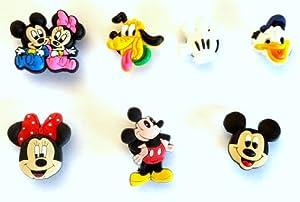 7 St. Satz # 2 des Schuh Schmucken Freunde von Mickey