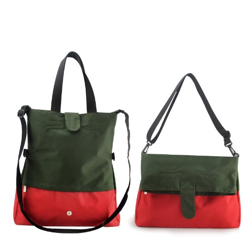 Heine Diaper Bag with Insulated Holder. Foldover Eco-Friendly Series
