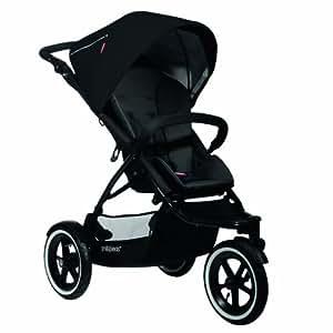 phil&teds Navigator Buggy Stroller, Black (Discontinued by Manufacturer)