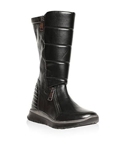 Tosca Blu Stiefel schwarz