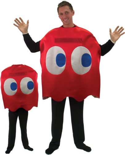 red Pac Man™ costume for adults - One Size