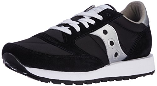 Saucony Jazz Original, Sneaker a Collo Basso Uomo, Nero (Black/Silver), 40 1/2 EU