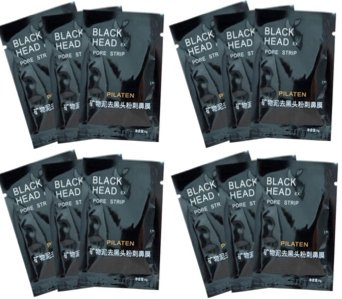 12 Nose Blackhead Removal Strips - Pore Masks