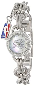 Game Time Ladies NBA-CHM-LAC Charm NBA Series Los Angeles Clippers 3-Hand Analog... by Game Time