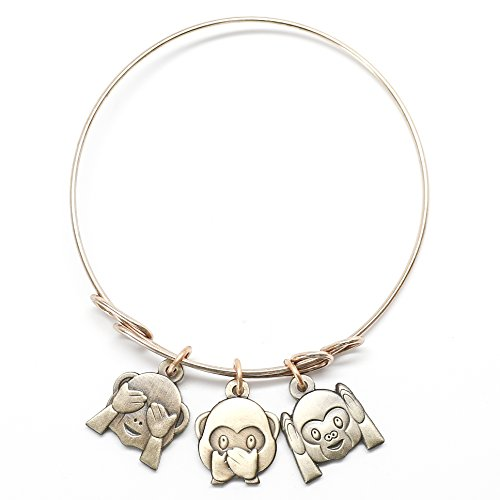 Emoji Girl Charm Bracelet