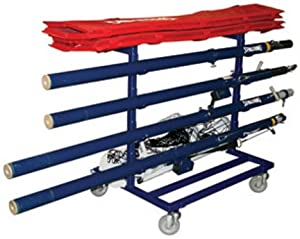 Spalding Volleyball Equipment Cart by Spalding