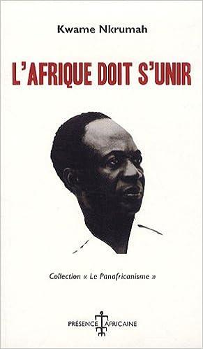 Image du livre 'l'Afriquedoits'unir'