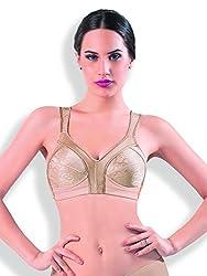DAZZLE 61827 Women's Non wired Non padded Bra (Natural Skin_40D)