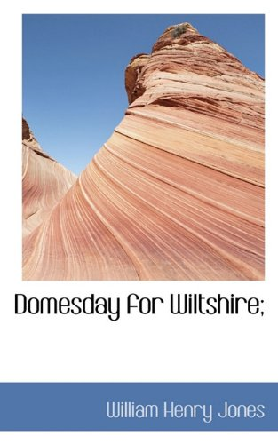 Domesday for Wiltshire;
