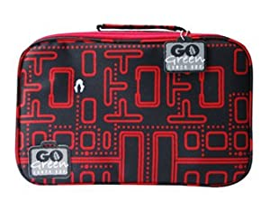 Go Green 5 Compartment Leakproof Lunch Box & Case (Packman)