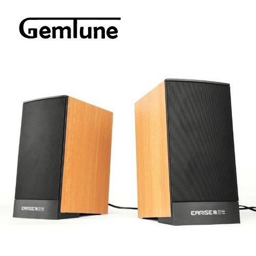 Earise Mini Computer Speakers AL-109, Powered by USB
