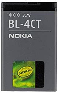 Nokia BL-4CT/BL4CT/0670565 Lithium Ion Battery for Nokia XpressMusic/0670565/2720/5310 Original OEM - Non-Retail Packaging - Black
