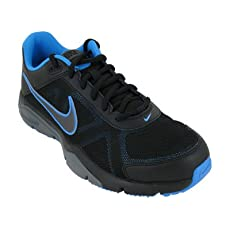 Nike Men's Dual Fusion TR III Running Shoe Blue/Black/Gray (9.5)