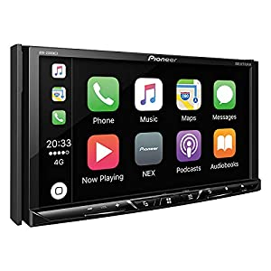 Pioneer AVH-2300NEX Multimedia DVD Receiver with 7 WVGA Display/Apple CarPlay/Android Auto/Built-in Bluetooth/SiriusXM-Ready/AppRadio Mode + (Color: black, Tamaño: 7 inches)