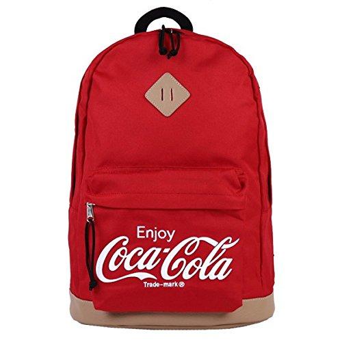 Coca-Cola(コカ・コーラ) 600Dリュックサック レッド