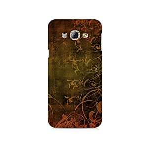 TAZindia Printed Hard Back Case Mobile Cover For Samsung Galaxy A8