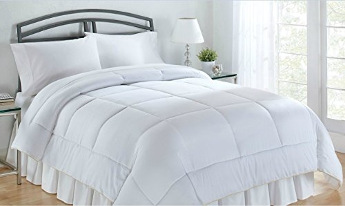 luxlen king california king lightweight cotton comforter down alternative. Black Bedroom Furniture Sets. Home Design Ideas