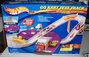 hot wheels go kart test track toys games. Black Bedroom Furniture Sets. Home Design Ideas