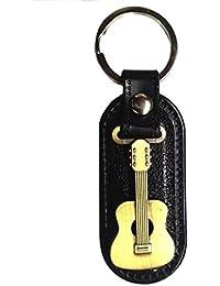 Parrk Stylic Guitar Leather Locking Keychain