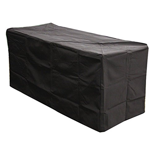 Outdoor Great Room Rectangular Vinyl Cover for Montego Crystal Fire Pit Table