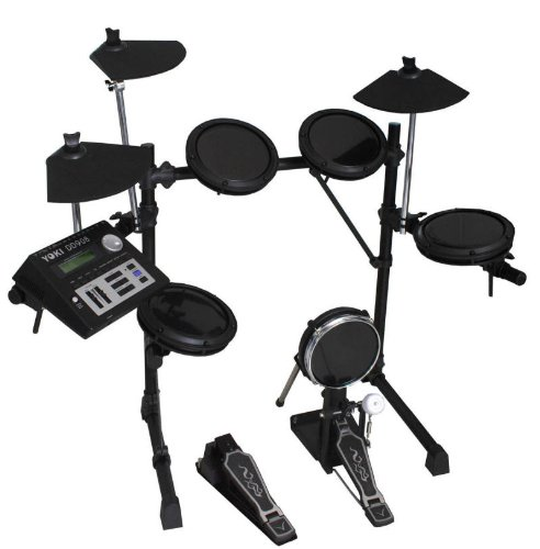 best price yoki dd908 electronic digital electric drum set kit on sale electronic drums. Black Bedroom Furniture Sets. Home Design Ideas