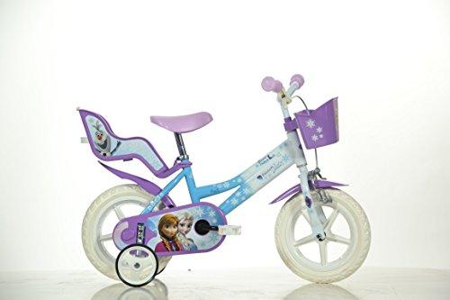 12-Zoll-FROZEN-Eisprinzessin-Kinderfahrrad-Kinderrad-Fahrrad-Rad-Bike-DINO-Bike