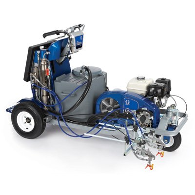 Graco LineLazer IV 250sps Self-Propelled Stand-On Paint Line Striper - 24F307 -No (0) Pressurized Bead System Tank Installed