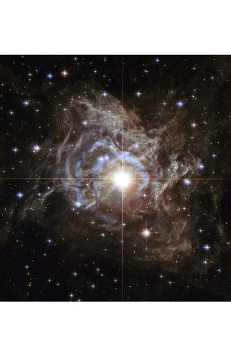 NASA-Space-Posters-Set-of-4-11x17-in-28x34-cm-ready-for-framing-Professional-Astronomy-Photographs-from-Hubble-Space-Telescope-Includes-Cepheid-Variable-Star-RS-Puppis-The-Antennae-Galaxies-Interior-o