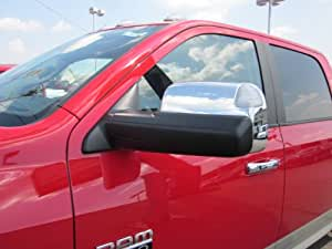 2011 DODGE RAM POWER TRAILER TOW TOWING MIRRORS CHROME