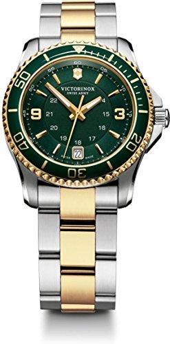 victorinox-swiss-army-241612-montre-femme-quartz-analogique-aiguilles-lumineuses-bracelet-acier-inox