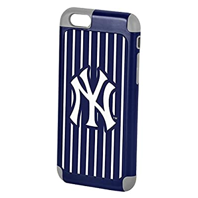 "Forever Collectibles Official Licensed MLB Dual Hybrid 4.7"" iPhone 6 Rugged Case - Retail Packaging"