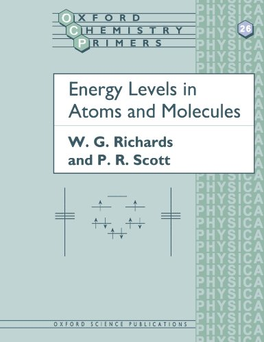 Energy Levels in Atoms and Molecules (Oxford Chemistry Primers)