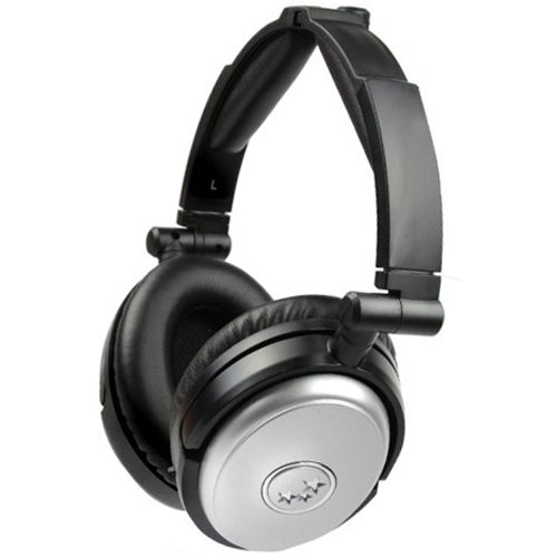 Able NC190SM Noise Cancelling Headphones Silver Silver