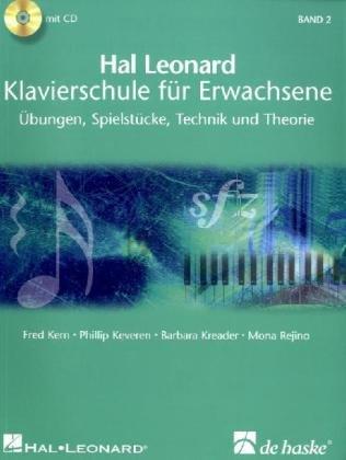 Cover Hal Leonard Klavierschule für Erwachsene Band 2