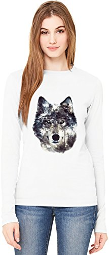 wolf-illustration-manches-longues-pour-femmes-t-shirt-long-sleeve-t-shirt-for-women-100-premium-cott