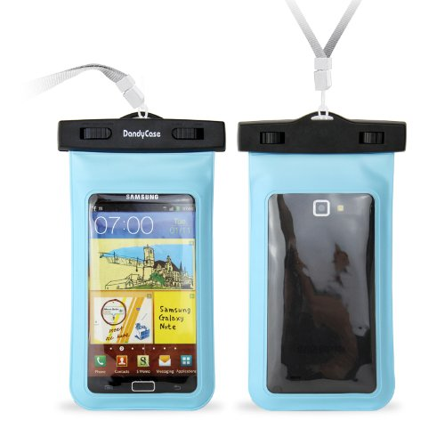 DandyCase Blue Waterproof Case for Apple iPhone