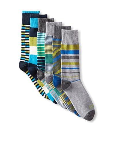 Funky Socks 30353H Men's Socks - 6 Pack, Assorted, One Size