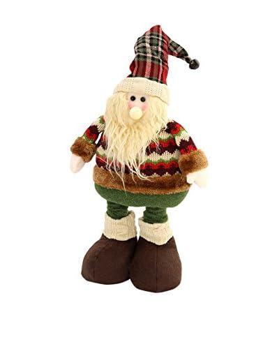 Figura Decorativa Papa Noel Extensible