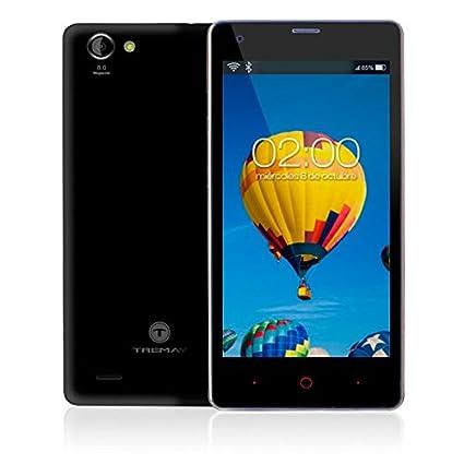 Tremay Smart502 Smartphone débloqué (5 pouces - 8 Go) Noir (import Espagne)
