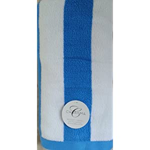 Charisma Resort Beach Towel (Blue Cabana Stripe /35 in x 70 in) at Sears.com