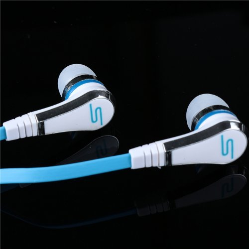 Soul Universal 3.5Mm Plug Earbud Noise Cancelling In-Ear Earpiece Answer The Phone Headphone For Samsung Iphone Free Shipping
